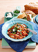 Tomaten-Wurst-Risotto