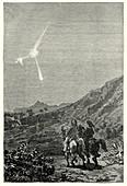 Meteor over Macau, Brazil, 1836
