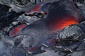 Lava flow from Kilauea, Hawaii