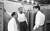Chen-Ning Yang visiting CERN, May 1962