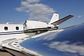 Cessna jet engine casing