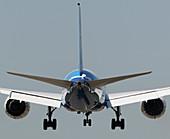 Boeing 787-8 Dreamliner landing