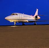 Falcon private jet