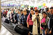 Airport baggage reclaim