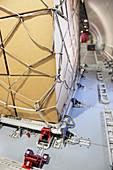 Cargo plane fixings