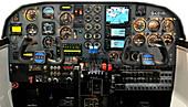Britten Norman BN-2B-20 Islander cockpit
