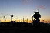 Air traffic control tower, Seattle, USA