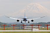 Boeing 787-8 Dreamliner prototype landing