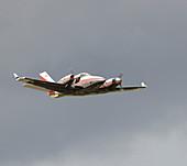 Beech 60 Duke light aircraft