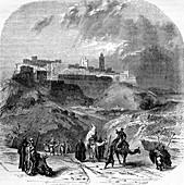 Tangier, Morocco, 19th Century illustration