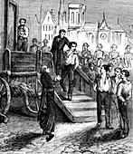 Execution of the Four Sergeants of La Rochelle, illustration