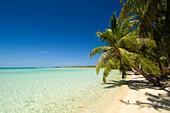 Tropical beach, French Polynesia