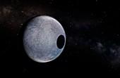Artwork of Dwarf Planet Eris