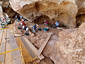 Excavations at Galeria fossil site, Spain