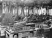 British munitions factory, First World War