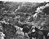 Breaching the Hindenburg Line, First World War