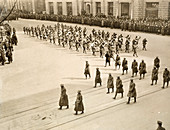 369th Infantry Regiment parading in New York, 1919