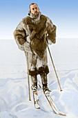 Amundsen's South Polar Navigation