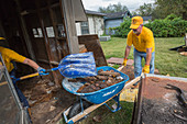 Hurricane Harvey cleanup, Texas, USA