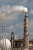 Valero oil refinery, Houston, USA