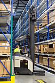 Auto parts distribution centre, USA