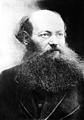 Peter Kropotkin, Russian geographer