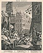 'Beer Street' by William Hogarth, 1751