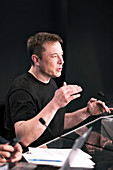 Elon Musk, SpaceX CEO and lead designer