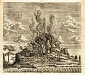 Eruption of Mount Etna, 1637