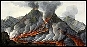 Mount Vesuvius eruption, 1756