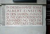 Einstein House, Switzerland