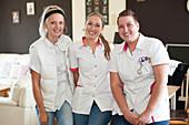 Home visit nurses