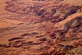 Vermilion cliffs, Arizona, USA, aerial photograph