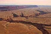 Canyons, Arizona, USA, aerial photograph