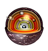 Geocentric model of the universe, illustration