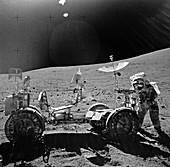 Apollo 16 exploration of the Moon, 1972