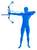 Archer, illustration