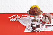 Grandma's boiled christmas pudding