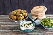 Falafel mit Feta (Orient)