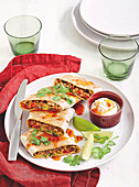 Pork and Veal quesadillas
