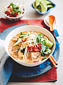 Fish and Corn Laksa