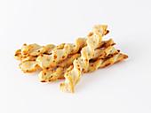Twisted Parmesan sticks