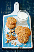 Oatmeal cookies with chia