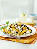 Herbed quinoa salad