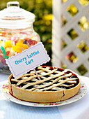 Cherry Lattice Pie