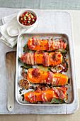 Roast squash wedges