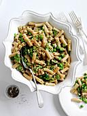 Tortiglioni with broccoli