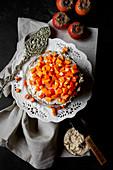 Persimmons Cake