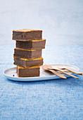 Schoko-Frischkäse-Blechkuchen
