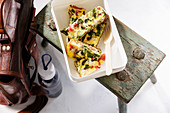 Low-carb chard frittata to take away